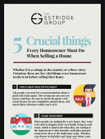 5 Crucial Things Every Homeowner Must Do When Selling a Home