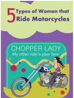5 Types of Women the Ride Motorcycles