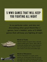 Best World War 2 Games for PC and Console