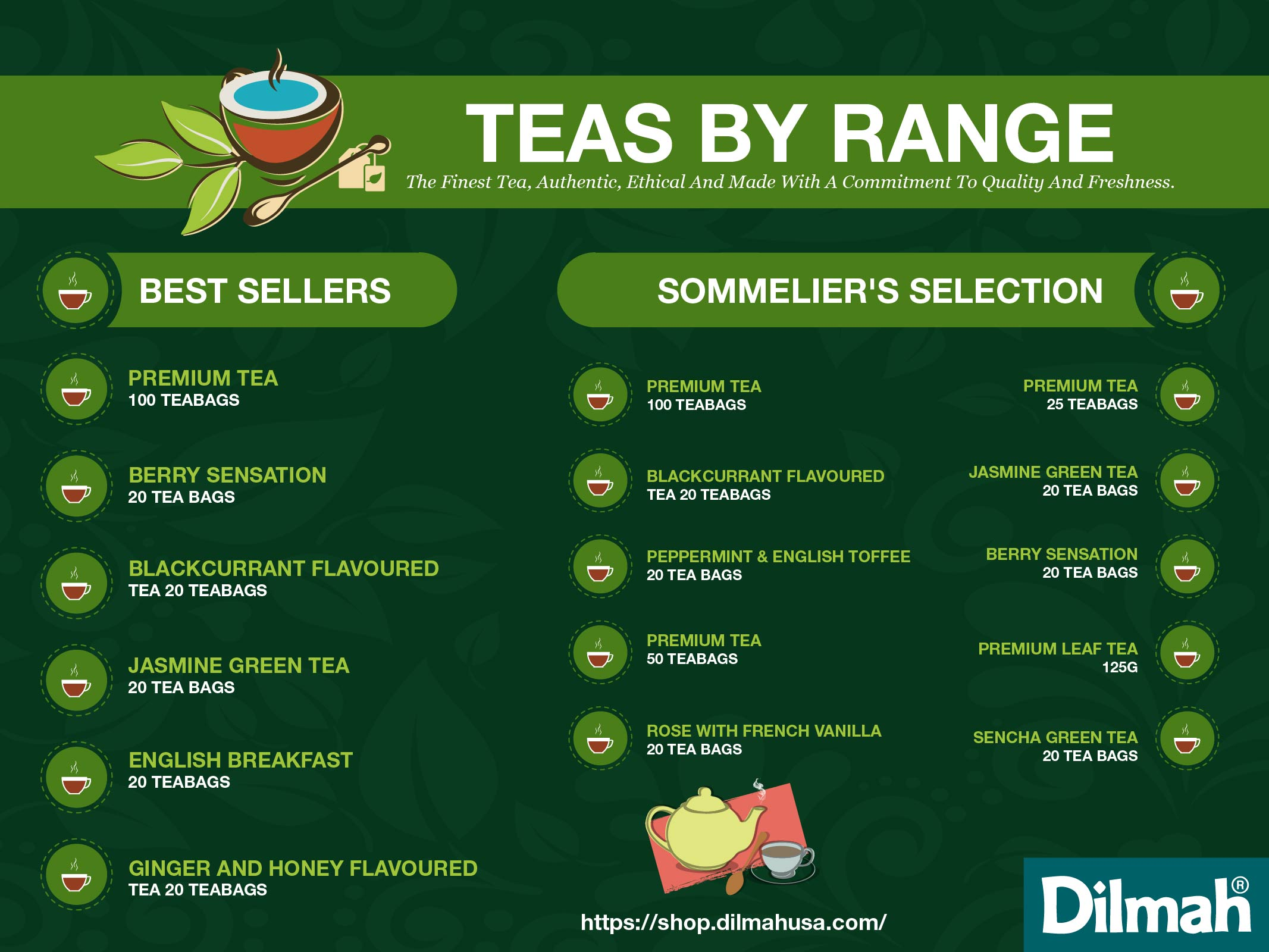 Dilmah - Teas by range-01