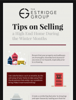 Tips on Selling a High End Home During the Winter Months