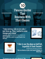 10 Famous Quotes That Resonate With Shot Glasses