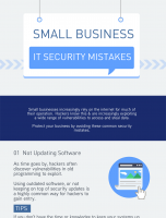 Most Common Small Business IT Security Mistakes