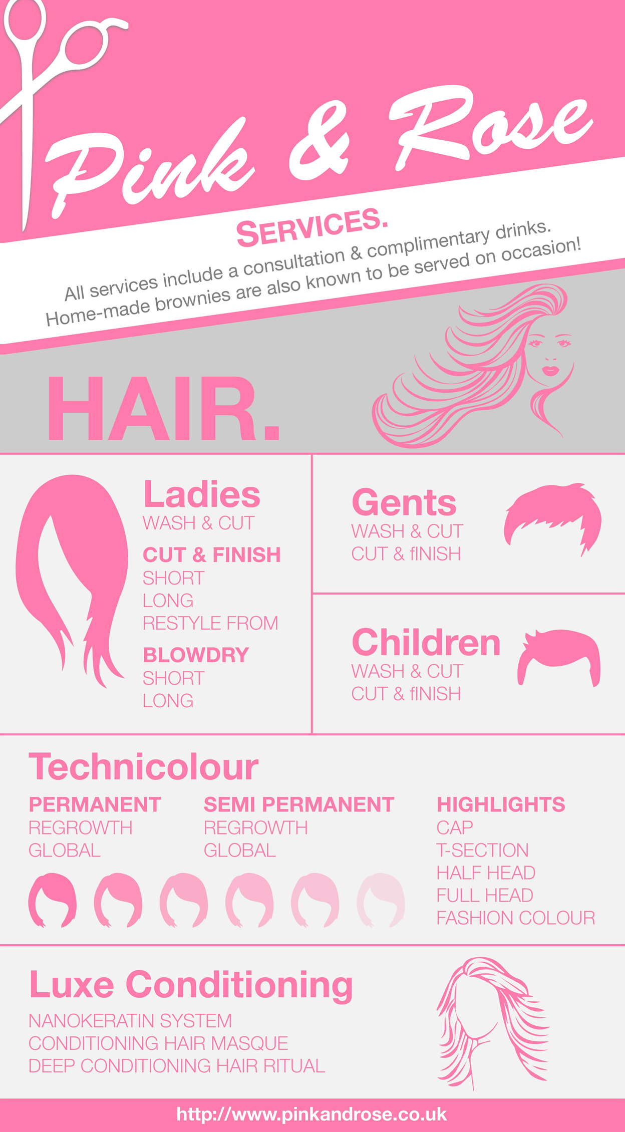 Pink and Rose-infographic