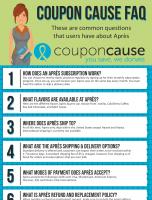 Après Coupon Cause FAQ (C.C. FAQ)