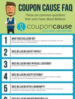 Bellacor Infographic Order Coupon Cause FAQ (C.C. FAQ)