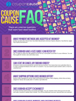 boohoo Infographic Order Coupon Cause FAQ (C.C. FAQ)