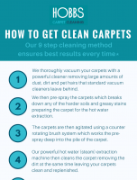 How to Get Clean Carpets