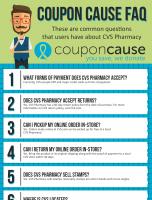 CVS Pharmacy Coupon Cause FAQ (C.C. FAQ)