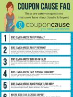 Elvis and Kresse Coupon Cause FAQ (C.C. FAQ)