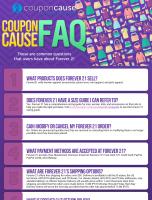 Forever 21 Coupon Cause FAQ (C.C. FAQ)