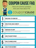 FTD Coupon Cause FAQ (C.C. FAQ)