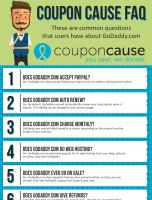 GoDaddy.com Coupon Cause FAQ (C.C. FAQ)