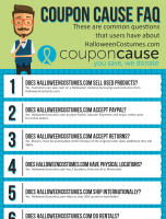 HalloweenCostumes.com Coupon Cause FAQ (C.C. FAQ)