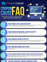 Liquid Web Infographic Order Coupon Cause FAQ (C.C. FAQ)