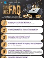 Melinda Maria Coupon Cause FAQ (C.C. FAQ)