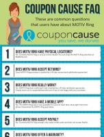 Motiv Ring Coupon Cause FAQ (C.C. FAQ)