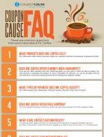 Mr. Coffee Coupon Cause FAQ (C.C. FAQ)