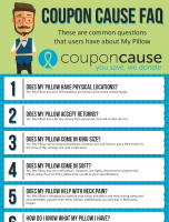 My Pillow Coupon Cause FAQ (C.C. FAQ)