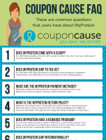 MyProtein Infographic Order Coupon Cause FAQ (C.C. FAQ)