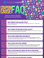 Old Navy Infographic Order Coupon Cause FAQ (C.C. FAQ)