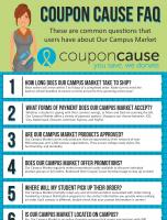 Our Campus Market Coupon Cause FAQ (C.C. FAQ)