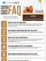 Plak That Infographic Order Coupon Cause FAQ (C.C. FAQ)