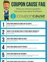 ProFlowers Coupon Cause FAQ (C.C. FAQ)