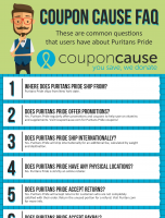 Puritans Pride Coupon Cause FAQ (C.C. FAQ)