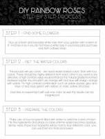 Learn How to Create Rainbow Roses