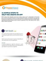 11 Simple Steps to Help You Create an App
