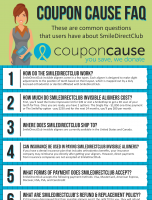 SmileDirectClub Coupon Cause FAQ (C.C. FAQ)