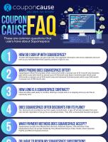 Squarespace Infographic Order Coupon Cause FAQ (C.C. FAQ)
