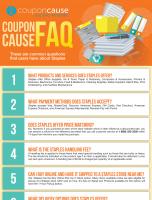 Staples Infographic Order Coupon Cause FAQ (C.C. FAQ)