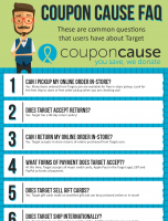 Target Coupon Cause FAQ (C.C. FAQ)