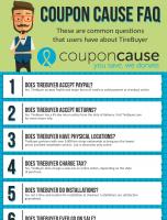 TireBuyer Coupon Cause FAQ (C.C. FAQ)