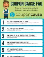 TJ Maxx Coupon Cause FAQ (C.C. FAQ)