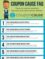 Verizon Coupon Cause FAQ (C.C. FAQ)
