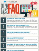 Walmart Infographic Order Coupon Cause FAQ (C.C. FAQ)